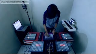 Launchpad Cover Live Remix - RATHER BE (clean bandit) by Alffy Rev ft Indies Noe