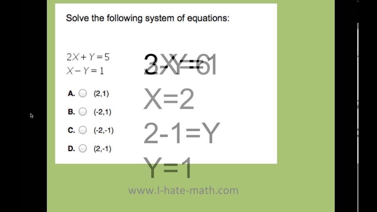 Pert Math Equation