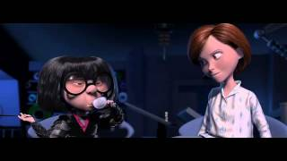 The Incredibles - Family Suits scene