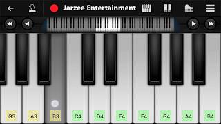 Pink Panther Theme - Easy Mobile Piano Tutorial | Jarzee Entertainment