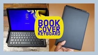 Galaxy Tab S4: Book Cover Keyboard
