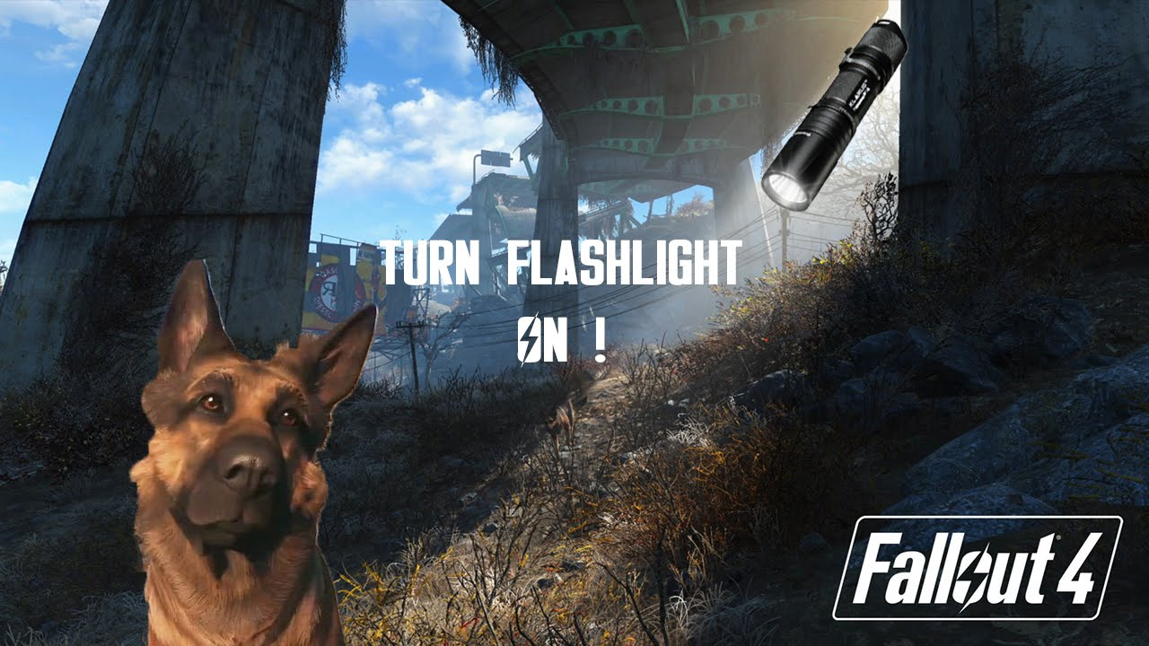 Fallout 4: How to Use Flashlight