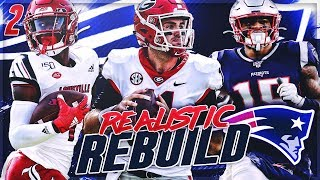Rebuilding The New England Patriots Ep 2 | Fromm HAS To Win Or We're FIRED | Madden 20 Franchise