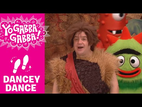 The Caveman Kaboom - Patton Oswalt - Yo Gabba Gabba!
