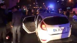 Cevizlibağ'da Metrobüs Kazası