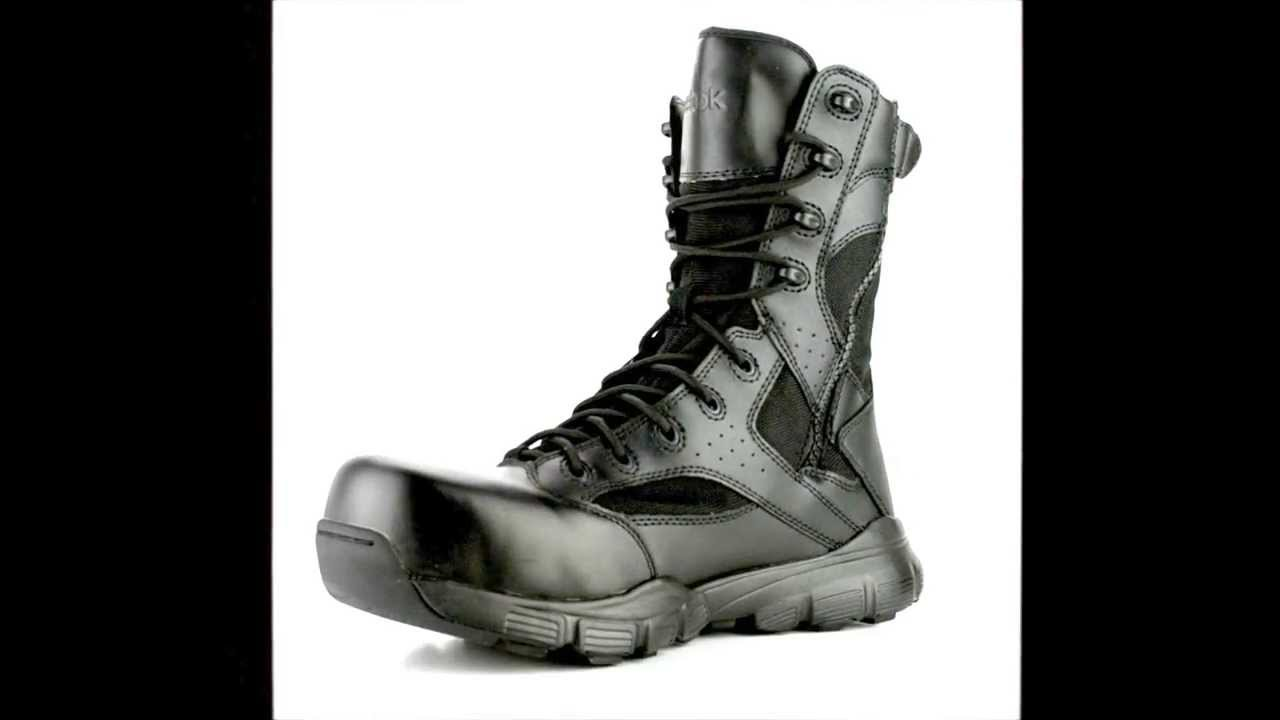 71566186dad9a7 Men's Reebok RB8826 Dauntless Composite Toe Metal Free Side Zipper Work  Boot @ Steel-Toe-Shoes.com