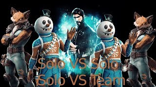 Fortnite Solo VS Team I'm sorry Community Offizelles video this weekend against Real😊🤗❤