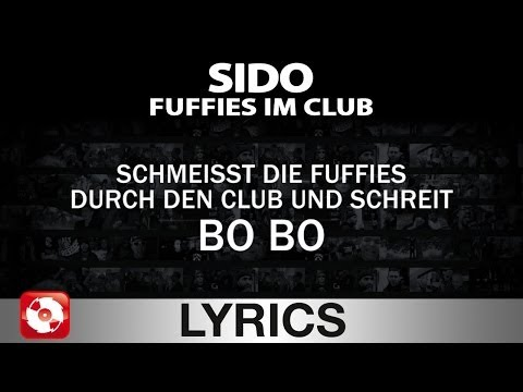 SIDO - FUFFIES IM CLUB - AGGROTV LYRICS KARAOKE  (OFFICIAL V