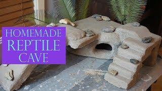 Huge DIY Reptile Cave | Step By Step!