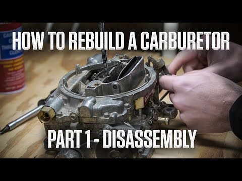 How to rebuild an Edelbrock or Carter AFB carburetor | Part 1 - Disassembly | Hagerty DIY