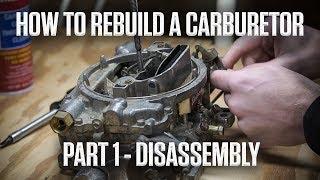 How to rebuild aฑ Edelbrock or Carter AFB carburetor | Part 1 - Disassembly | Hagerty DIY