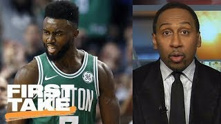 Stephen A. praises Jaylen Brown's performance in Celtics' win over Warriors | First Take | ESPN
