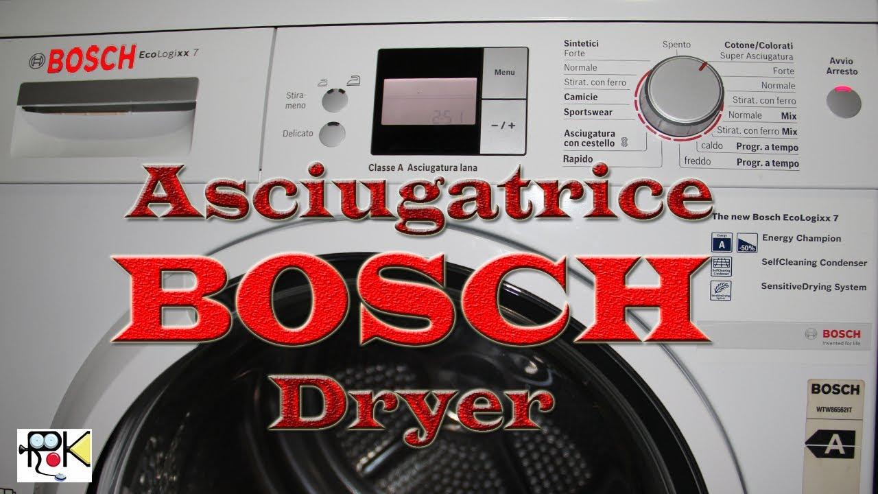 Asciugatrice BOSCH Problema rumore mentre gira Dryer