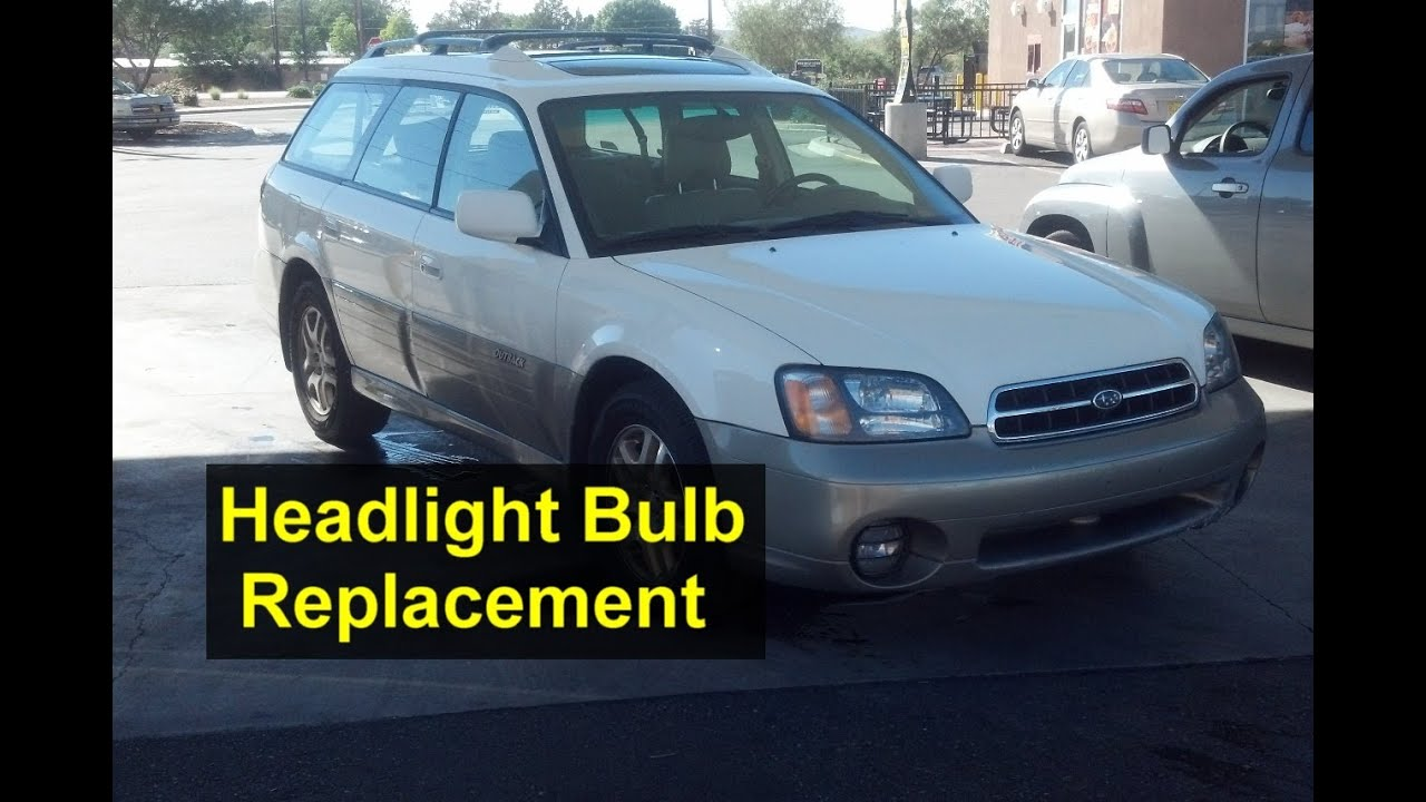 2005 Subaru Outback Low Beam Fuse Diagram Car Wiring Diagrams 2001 Forester Headlight Bulb Replacement High And Rh Youtube Com 2008 1999