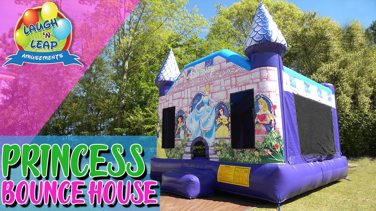 Disney Princess Bounce House Party Rentals For Kids In South