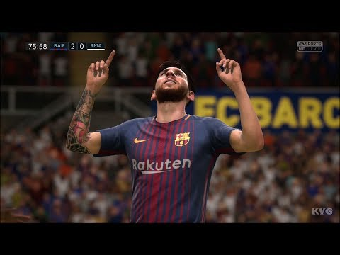 FIFA 18 - FC Barcelona vs Real Madrid CF - Gameplay (HD) [1080p60FPS]