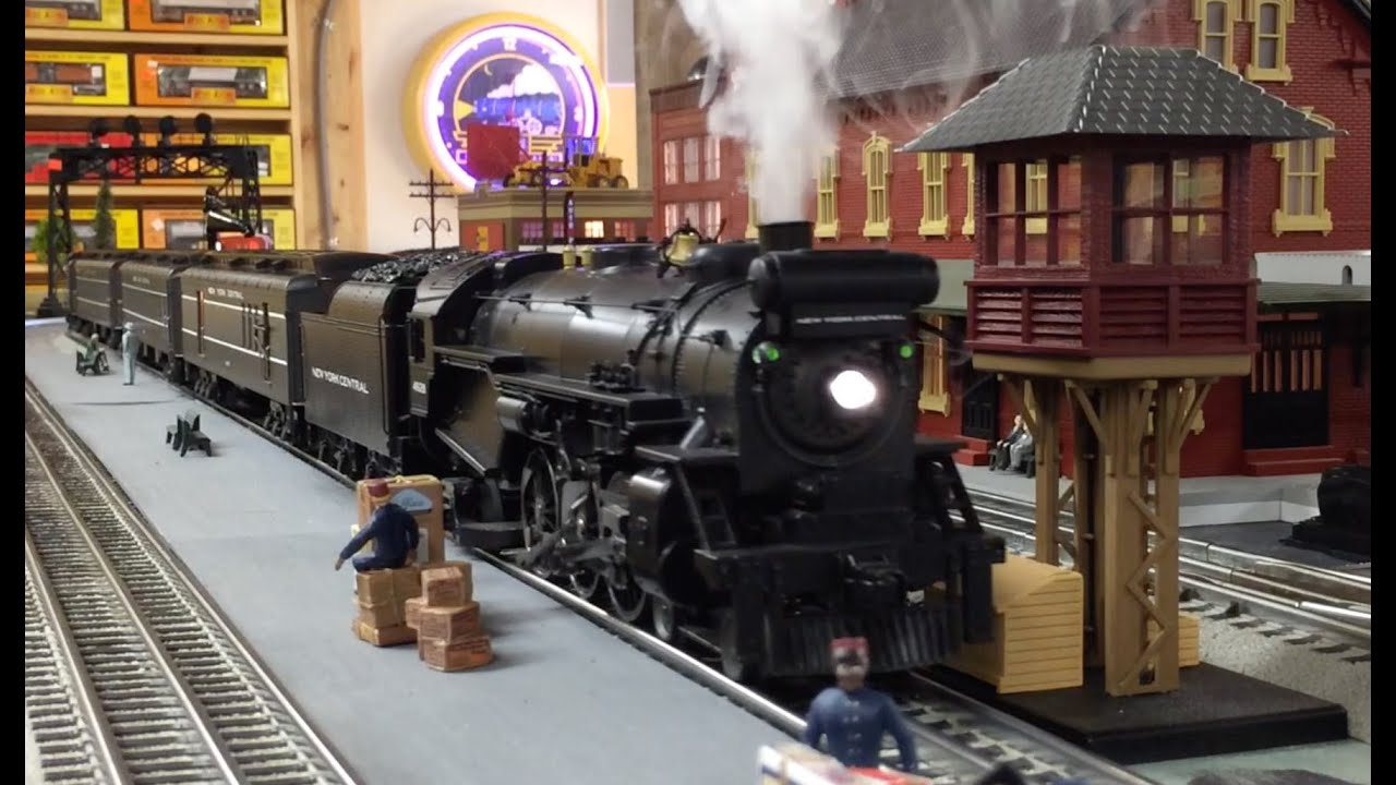 Mth Railking New York Central P47 Pacific Youtube