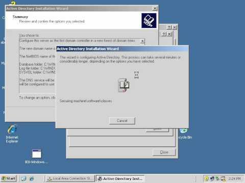 WPA2 Enterprise: Domain Controller