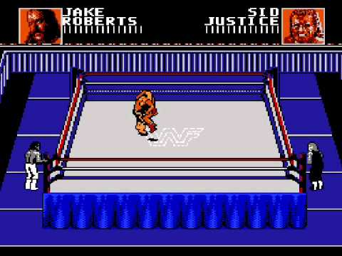 Wwf Wrestling Games Nes Review Youtube