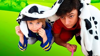 Alena and Pasha play with toy fish || Funny story for children by Chiko TV