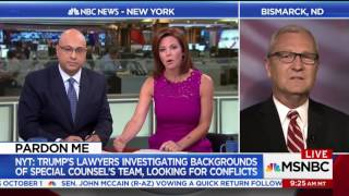 Kevin Cramer gets called out by MSNBC