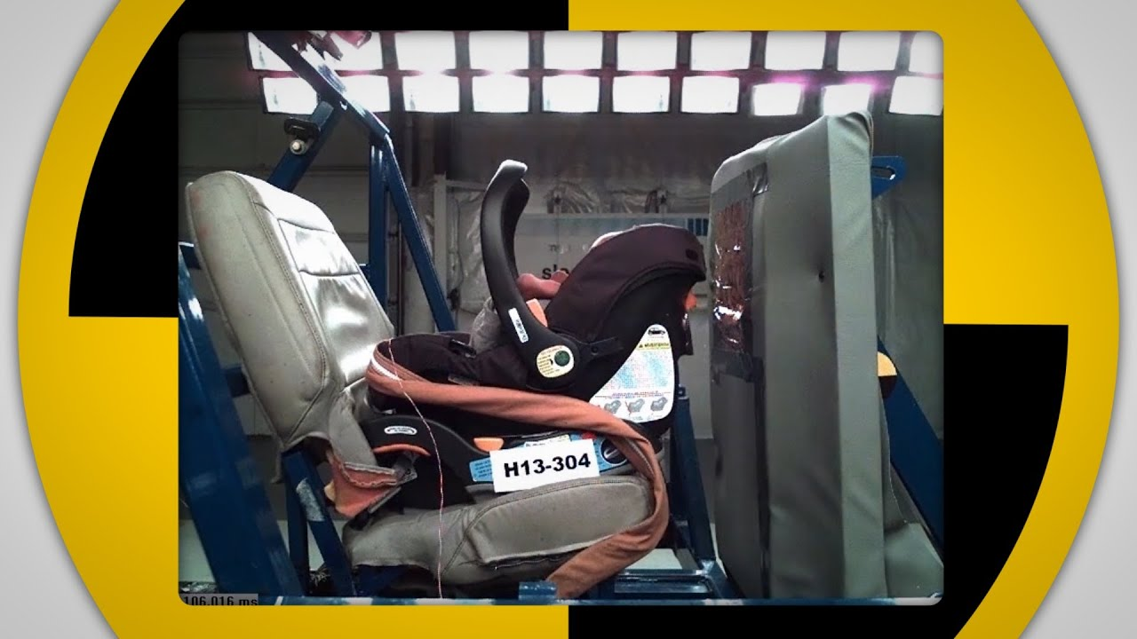 consumer reports designs new car seat crash test. Black Bedroom Furniture Sets. Home Design Ideas