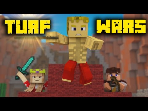 MINECRAFT TURF WARS - RECORDAR ESTE MINI-GAME  CHitz & Miss