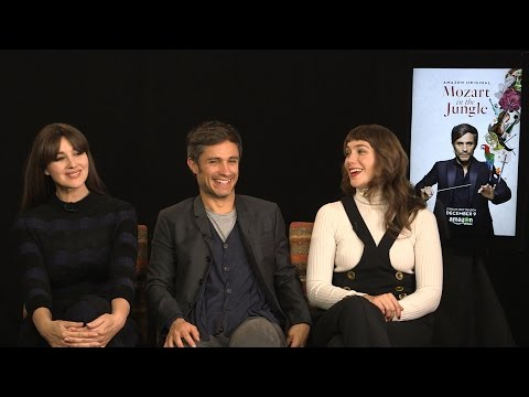 Gael García Bernal, Monica Bellucci & Lola Kirke on