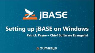 jBASE Setup on Windows: Installing jBASE