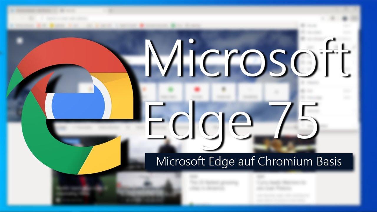 Microsoft Edge Chromium für Windows 7 herunterladen und