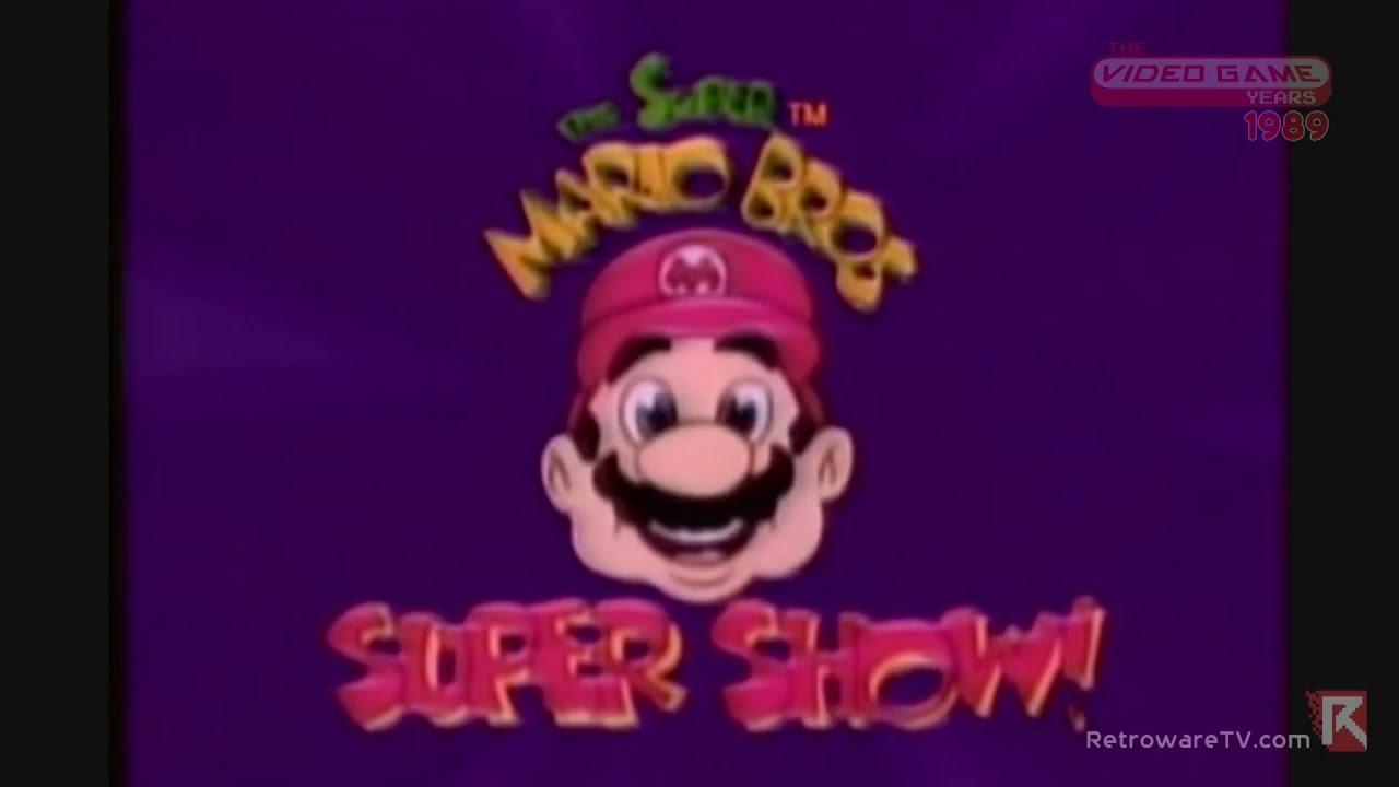 Super Mario Bros Super Show Captain N 1989 Video Game Years