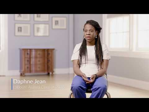 Alumni story- Daphne Jean, graduate of Laboure College nursing program