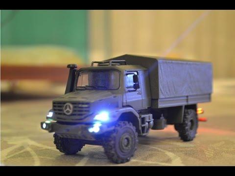 1 87 Rc Mercedes Zetros Youtube