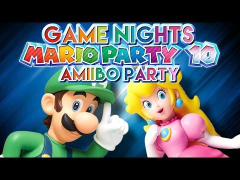 TAP & RUB | Creature Game Nights (Mario Party 10 | Amiibo Party Mode)