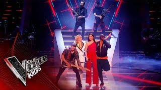 The Coaches Perform 'Heroes' | Blind Auditions | The Voice Kids UK 2019