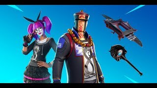 """The *NEW* """"PARADOX"""" & """"LACE"""" Skin With Glider And Pickaxe (Fortnite Moments)"""