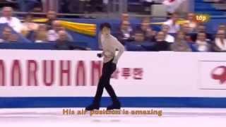 [ENG SUB] Spanish Commentary: Yuzuru Hanyu (JPN) FS - Worlds 2012