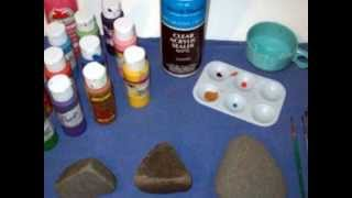 How to Paint an Awesome Pet Rock!.wmv