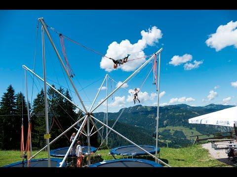 Flying Sölli - das BungeeTrampolin am Söllereck in Oberstdorf