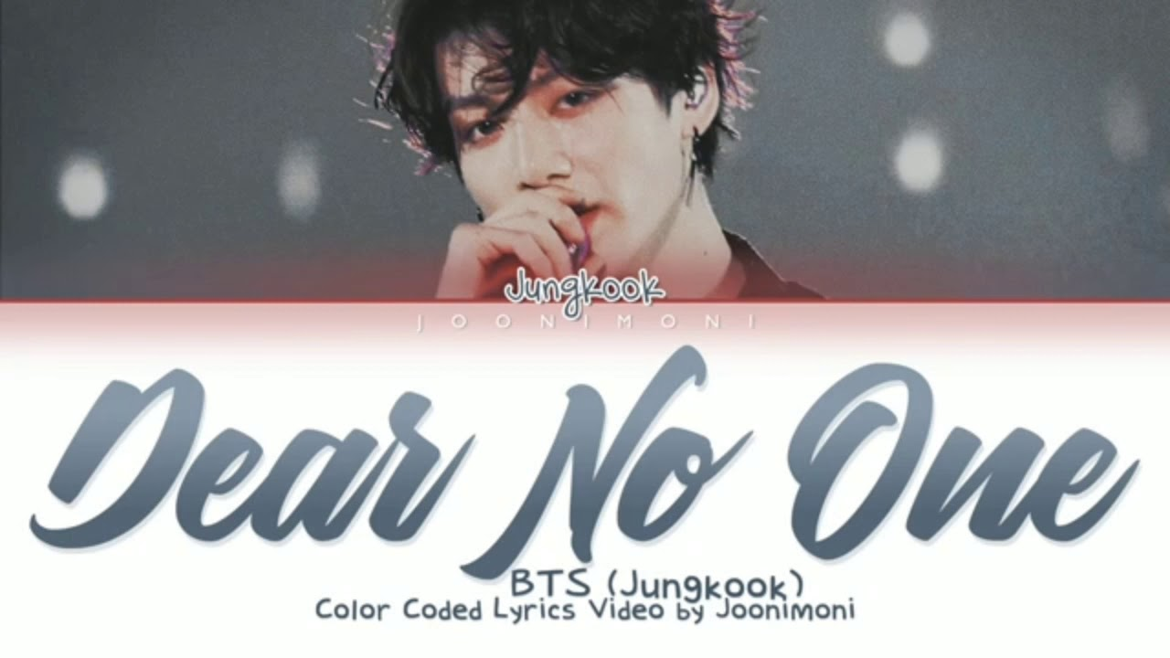 Download BTS (JUNGKOOK) - Dear No One (Cover English)