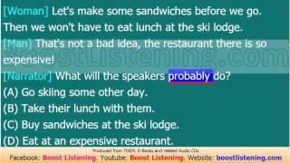 Boost Listening - TOEFL Listening Lesson 241