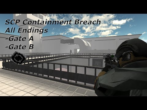 SCP Containment Breach: All Endings - 1.3.8 (Read Description)