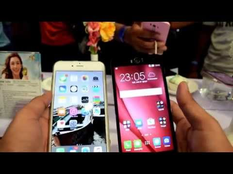 Asus zenfone 2 selfie  camera comparison with iphone 6 Plus camera