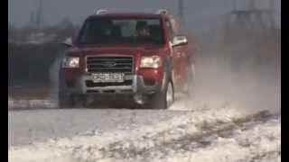 Off-Road Drive 05a Зимний тест-драйв Mitsubishi L-200 и Ford Ranger