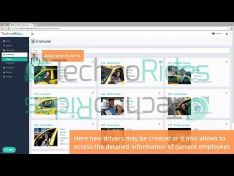 Technorides - Tutorials - Administrator Dashboard