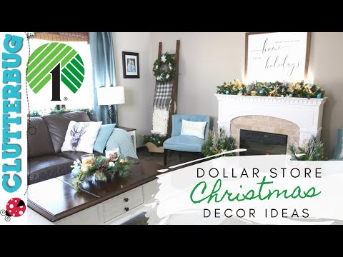 DIY Christmas Decor Ideas From The Dollar Store - Decorate With Me