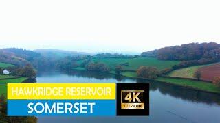 Hawkridge Reservoir with the MAVIC 2 PRO #Somerset #hawkridgereservoir #dji