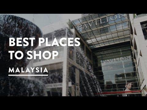 BEST SHOPPING KUALA LUMPUR - PAVILION MALL | Bukit Bintang Malaysia Travel Vlog 083, 2017