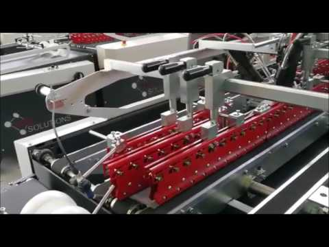 Folder Gluer machine for Crash Lock Bottom Boxes by Box Plus 2 machine