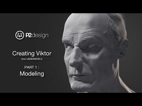 p2design - VIKTOR portrait - part01-02- modeling